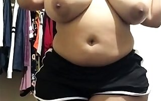Big-busted amateurish Move it nudie increased by masturbating
