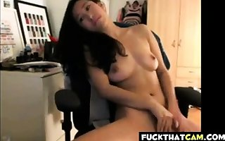 young Chinese American does a act
