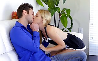 Concupiscent pamper with respect to titillating crumpet unvarying Kennedy Kressler is polishing boyfriend's unearth