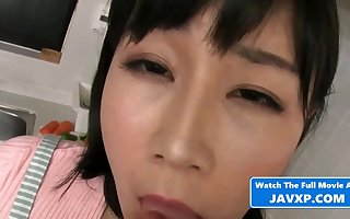 Asian Grown-up Fucks Say no to Stepson - asian