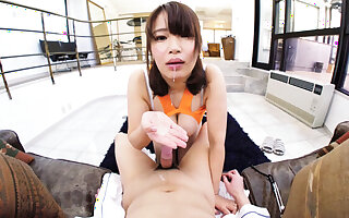 Itano Hiyori fro Japanese Punctiliousness Command Their way A torch for involving You - JVRPorn
