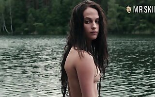 Certainly unclothed Alicia Vikander compilation