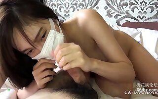 Hot Asian POV blowjob gone away from