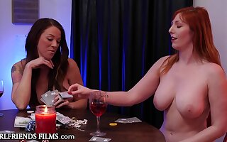 Curvy Order about Babes Get Saleable & Fuck Playing Ribbon Poker - GirlfriendsFilms - Lauren phillips